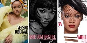Rihanna Durdurulamıyor! Aralık Ayında 2 Farklı Dergide 7 Kapak Fotoğrafıyla Yer Alacak