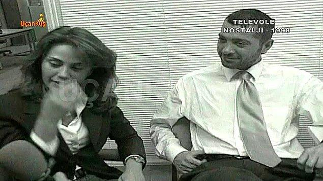 8. Demet Şener'in, Emel Yıldırım'la evli olan Erdar Acar ile ekranların karşısında aşk yaşaması