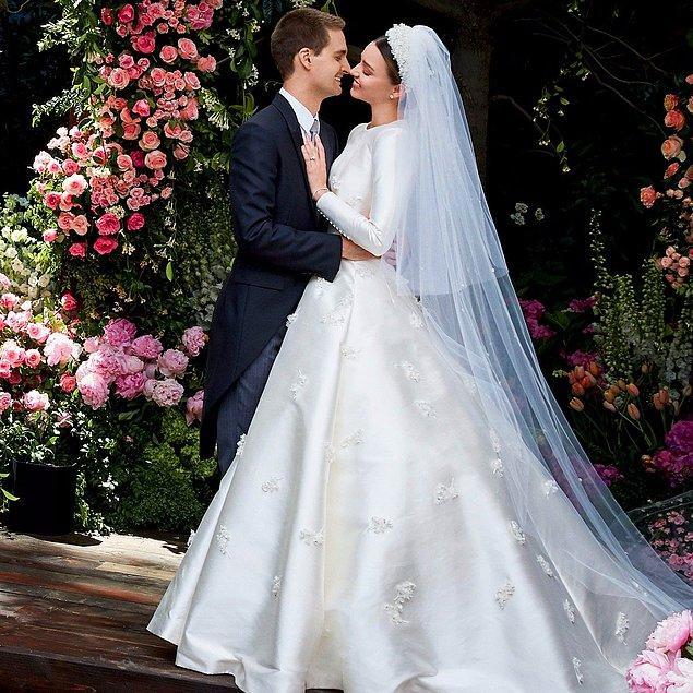 2. Miranda Kerr & Evan Spiegel