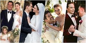 Bu Yıl Ünlülerden Evlenen Evlenene! İşte 2017'de Dünyaevine Giren 22 Aşık Çift