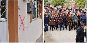 Malatya'da Alevi Vatandaşların Evlerine Kırmızı Boyayla Çarpı İşareti