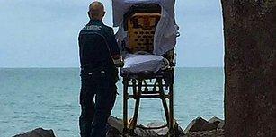Ölmeden Önce Okyanusu Görmek İstedi... Bir Kadının Son Arzusunu Yerine Getiren Ambulans Personeli