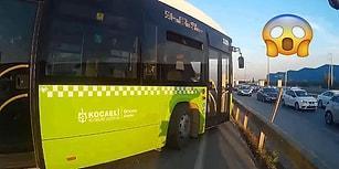 Trafikte Kavga Edecekken Sinirinden Trafik Polisliğine Soyunan Motosikletli