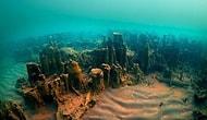 Canavar Ararken Bakın Ne Buldular! Van Gölü'nde Bulunan 3000 Yıllık Gizemli Kale