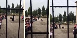 Öğretmenler Gününde Bir Çocuğa İnsafsız Ceza: Tören Boyunca Betonda Oturtuldu!