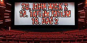 Sinema Severler Buraya! 2017 Yılında Ülkemizde En Çok İzlenen Filmleri Biliyor musunuz? 🎬