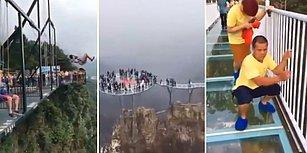 Yükseklik Korkusu Olanlar Uzak Dursun! Binlerce Metre Yükseklikte İnsana Üç Buçuk Attıran Yerler