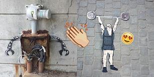 'Şehirlerin Sıkıcılığından Kurtulmak İstiyoruz!' Diyen Sokak Sanatçılarından 27 Eğlenceli Çalışma