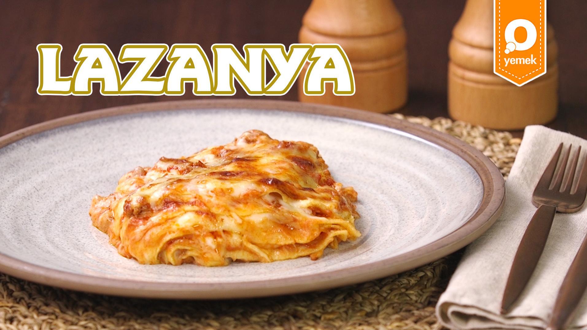 Sebze Püreli Lazanya Tarifi