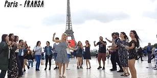 Avrupa'nın Sokaklarında Erik Dalı Gevrektir Şarkısıyla Coşan Gençler