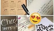 El Yazısı Değil Daktilo Mübarek: Bu Güzel Yazıların 'İnsan' Elinden Çıktığına İnanamayacaksınız!