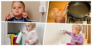 Ev Kazaları Canınızı Yakmasın! Bebeğinizi Korumak İçin Evde Almanız Gereken Önlemler