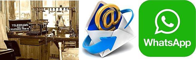 10. İlk uzaktan iletişim aracımız telgraf kullanılan günlerden, şimdilerde parmağımızın ucuyla anlık kurduğumuz iletişim teknolojilerine.