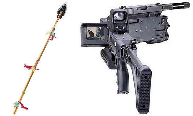13. Tarihte ilk kez silah olarak kullanılan mızraktan, günümüzde yüksek teknolojili silahların kullanıldığı dönemlere.