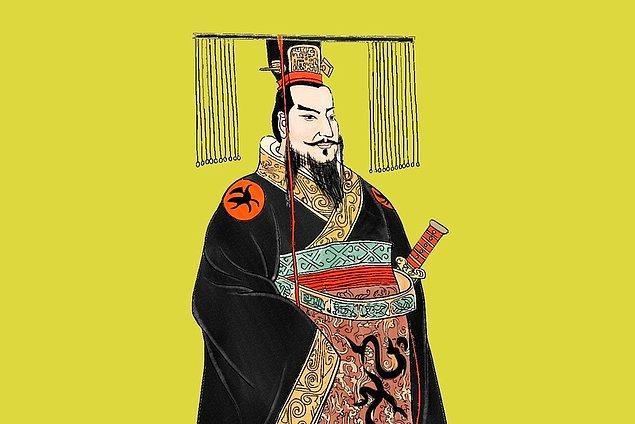 15. İlk Çin İmparatoru cıva ve taş tozundan oluşan bir karışımı içince, öldü.
