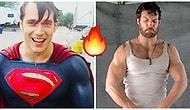 Süpermen'imiz Henry Cavill'den İzleyenleri Elden Ayaktan Düşürecek 18 Ateşli Sahne 🔥