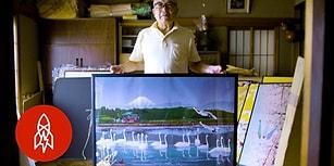 Microsoft Excel ile Muhteşem Resimler Yapan 77 Yaşındaki Japon Sanatçı