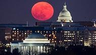 Gökyüzünü Aydınlattı: Tüm Dünyadan Kadrajlara Yansıyan 'Süper Ay' Manzaraları