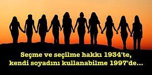 Dünya Kadın Hakları Günü: Osmanlı'dan Günümüze Türkiye Topraklarında Yaşayan Kadınlara Tanınan Hakların Tarihsel Gelişimi