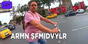 İstanbul Trafiğindeki Tüm Absürt Olaylara Denk Gelen Gusülsüz Motorcu