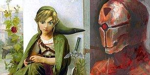 Sevdikleri Oyunları Tuvale Döken Ressamlardan 25 Sanatsal Çalışma