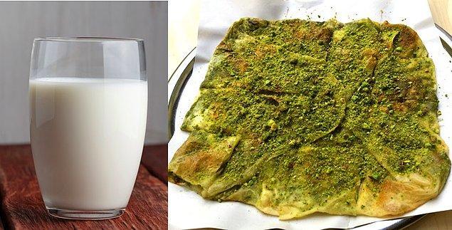 13. Gaziantep'in üç atom bombası gücündeki enerjik kahvaltısı katmer ve sütün kardeşliği.