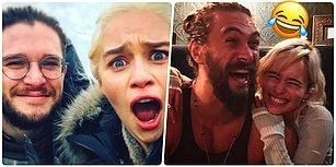 Onlar 2017'nin Belki de En Çok Eğlenenleri! 22 Görselle Game of Thrones Oyuncularının Eğlenceli Anları