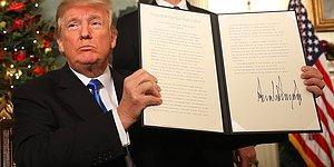 Trump, ABD Politikasını Tersine Çevirdi: Kudüs İsrail'in Başkenti Olarak Tanındı, Elçilik Taşınacak