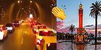 Çiçekler Açmaya Devam Ediyor! İzmir'de İtfaiyeye Yol Veren Duyarlı Sürücüler 👏