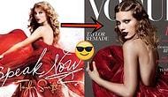 Yeni Albümüyle Yeni Bir Sanatçı Kimliğine Bürünen Taylor Swift'in Yolculuğunu Simgeleyen Vogue Kapağı