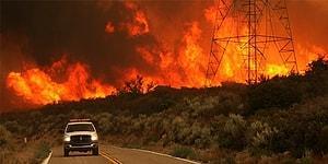 Kaliforniya'da Çıkan Dev Yangından Gelen Bu Görüntüler Kanınızı Donduracak!