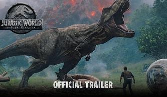Jurassic World: Fallen Kingdom'dan İlk fragman Yayınlandı!