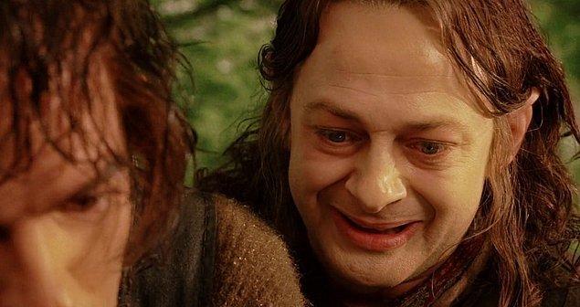 1. Aşk adamı Gollum! Otuzlu yaşlarında tanıştığı aşk, hayata tutunmasını sağladı ve onun yaşam gayesi oldu.