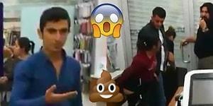 Hırsızlık Yaptığı Anlaşılınca Dükkanın Ortasına S*çtı! Bir Savunma Mekanizması Olarak Dışkı 💩