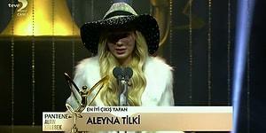Aleyna Tilki'den 44. Pantene Altın Kelebek'te 'Allı Turnam' Performansı