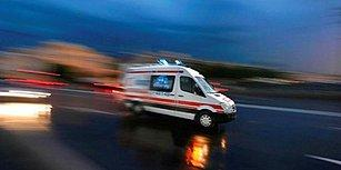 📢  Emniyet Şeridini İşgal Etme! Hasta Taşıyan Ambulansa Yol Vermeyen Çekici