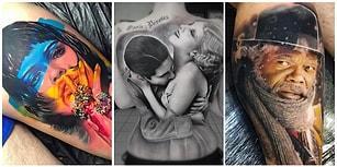 Dövme Sanatçılarının İnce Eleyip Sık Dokuyarak Ortaya Koyduğu 19 Gerçekçi Şaheser!
