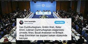 İİT Olağanüstü Toplantısı İstanbul'da Başladı, Hangi Ülkeler Devlet Başkanı Düzeyinde Katılmadı?