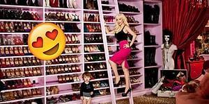 Ayakkabı Aşıkları Buraya! Ünlülerin Rengarenk Ayakkabı Koleksiyonlarını Görünce Çok Kıskanacaksınız!