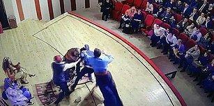 Tokat'ta Bir Tiyatro Oyuncusu Sahnede Saldırıya Uğradı