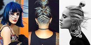 Saç Modeli ve Kesimlerinde Marjinal Olmak İsteyenler Toplanın, Sınırları Kafamızda Bitiriyoruz!