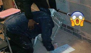 Kafasını Mikrodalga Fırına Sokup İçine Çimento Döken YouTuber Ölmek Üzereyken Kurtarıldı!