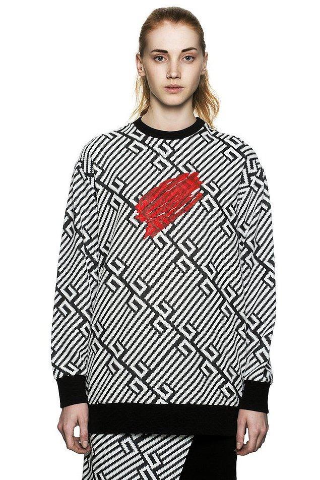 Les Benjamin marka sweatshirt'ü 655 TL, ancak şu an indirimde ve 458,50 TL'den satın alınabiliyor.