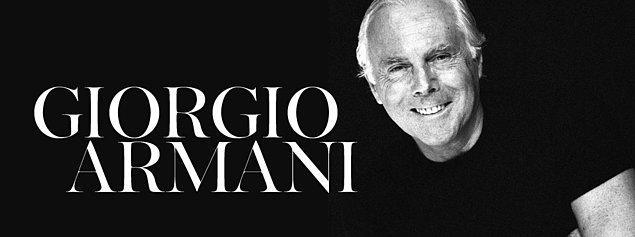 24. Giorgio Armani - Corcio Armani