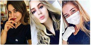 Başarılı Oldukları Kadar Güzellikleriyle de Dikkatleri Üzerine Çeken 16 Minnoş Türk Hemşire 💉