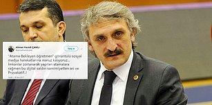 AKP Milletvekili Çamlı Atama İsteyen Öğretmenlere 'Provokatör' Dedi... Öğretmenler: 'Hiç 95 Puan Alıp Atama Beklediniz mi?'
