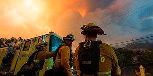 İki Haftadır Söndürülemedi: Alevler Arasında Kalan Kaliforniya'dan 11 Yürek Burkan Kare