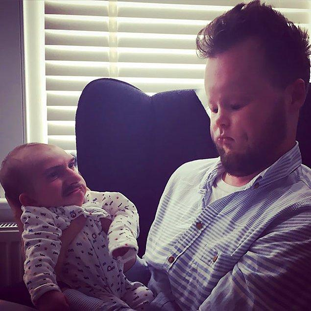 """2. """"Erkek kardeşimle kızımı face swap yaptım. Gülmeden duramıyorum."""""""