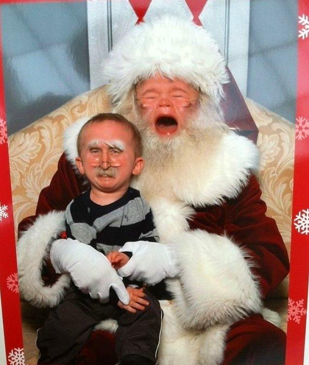 """18. """"Yeğenim geçenlerde Noel babayı ziyaret etti."""""""