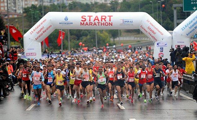 6. Güzel sebepler, yardım, bilinç arttırma gibi amaçlarla yapılan maratonlara katılın ve bol bol antrenman yapın.